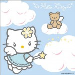 Puzzle 3 x 49 pièces - Hello Kitty