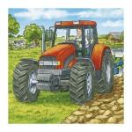 Puzzle 3 x 49 pièces - Machines agricoles