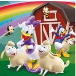Puzzle 3 x 49 pièces - Tout le monde aime Mickey
