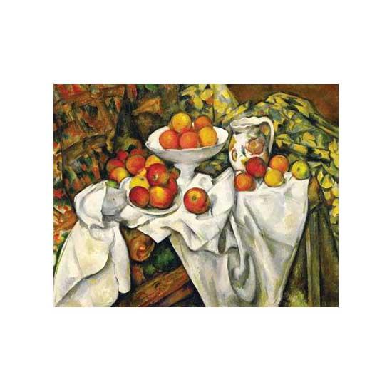 Puzzle 300 pièces - Cezanne : Pommes et oranges - Ravensburger-14021