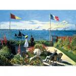 Puzzle 300 pièces - Monet : Terrasse à Sainte-Adresse