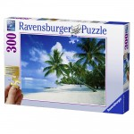 Puzzle 300 pièces : Bora-Bora, Océan Pacifique