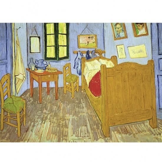 Puzzle 300 pièces : Chambre de Van Gogh à Arles - Ravensburger-13656