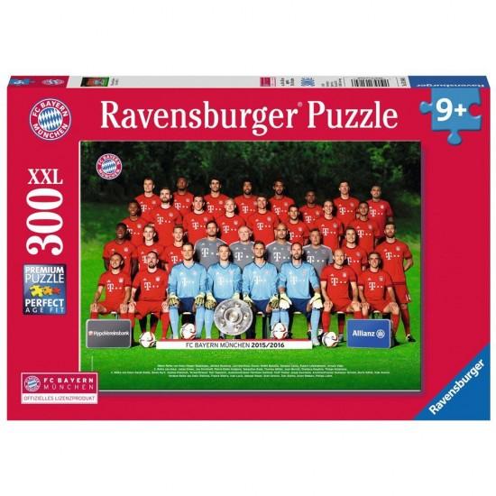 Puzzle 300 pièces : Équipe FC Bayern Saison 2015/2016 - Ravensburger-13184