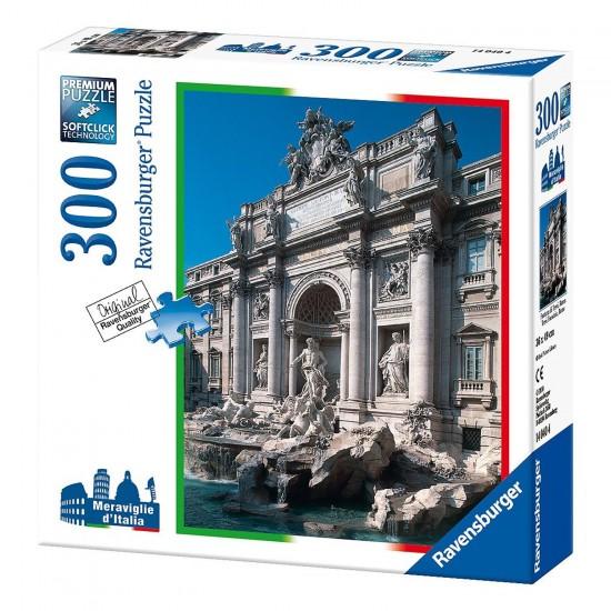 Puzzle 300 pièces : Fontaine de Trevi, Rome - Ravensburger-14040