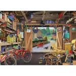 Puzzle 300 pièces : Garage du grand-père
