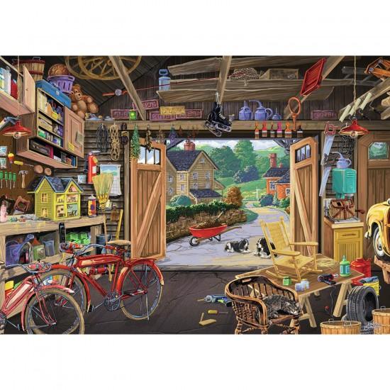 Puzzle 300 pièces : Garage du grand-père - Ravensburger-13578