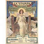 Puzzle 300 pièces : La Stampa Manifesto 1899