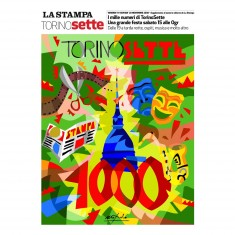 Puzzle 300 pièces : La Stampa TorinoSette 1000