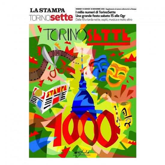 Puzzle 300 pièces : La Stampa TorinoSette 1000 - Ravensburger-13964