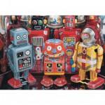 Puzzle 300 pièces : Robots à l'ancienne