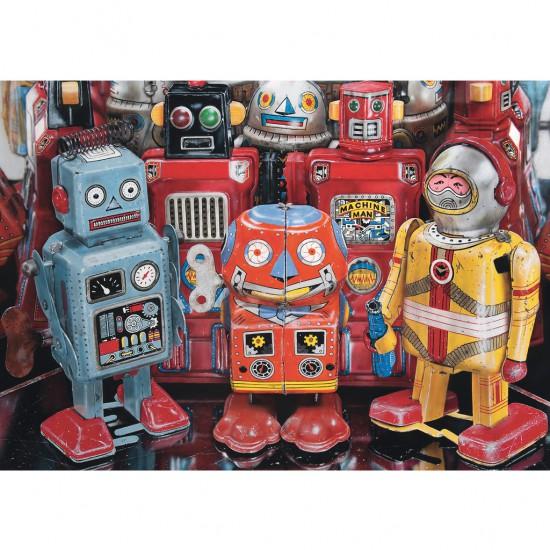 Puzzle 300 pièces : Robots à l'ancienne - Ravensburger-13570