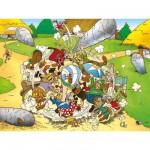 Puzzle 300 pièces - Astérix : La folle bagarre