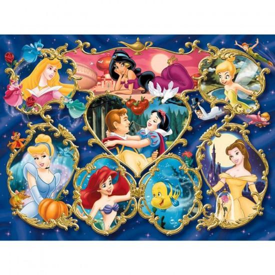 Puzzle 300 pièces - Princesses Disney : Galerie des Princesses - Ravensburger-13108