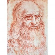 Puzzle 300 pièces - Léonard de Vinci : Auto-portrait
