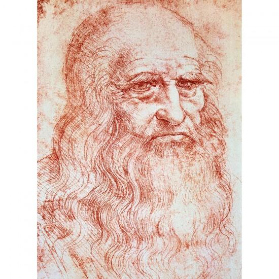Puzzle 300 pièces - Léonard de Vinci : Auto-portrait - Ravensburger-14030