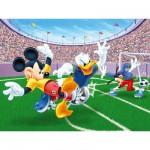 Puzzle 300 pièces - Mickey et ses amis : Match de football