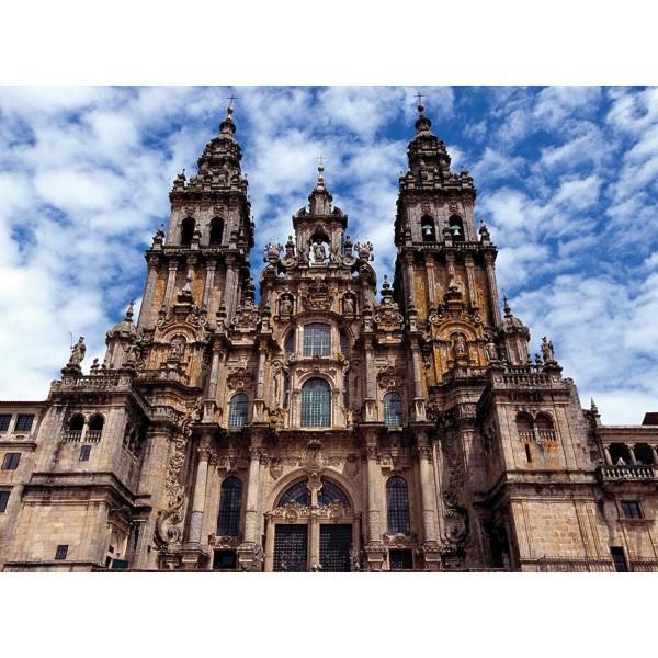 Puzzle 300 pièces - Saint Jacques de Compostelle, Espagne - Ravensburger-14046