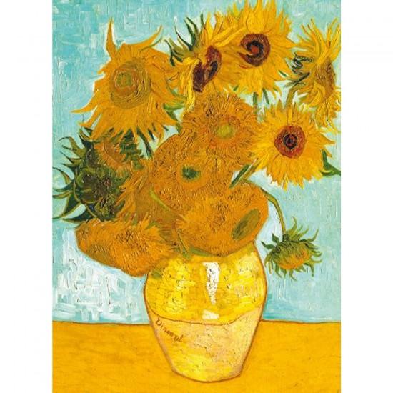 Puzzle 300 pièces - Van Gogh : Les Tournesols - Ravensburger-14006