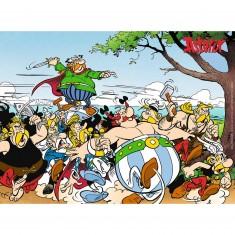 Puzzle 300 pièces XXL : Astérix : Les gaulois à l'attaque