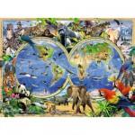 Puzzle 300 pièces XXL : Le monde sauvage