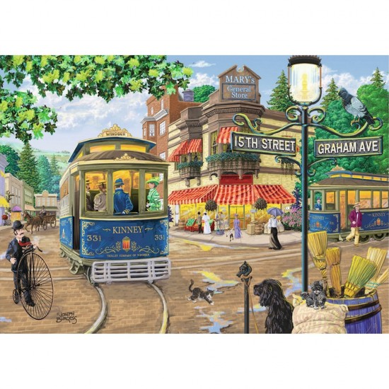 Puzzle 300 pièces XXL : Mary's General Store - Ravensburger-13571