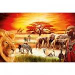 Puzzle 3000 pièces : La fierté du Massaï