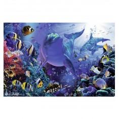Puzzle 3000 pièces : Monde sous-marin
