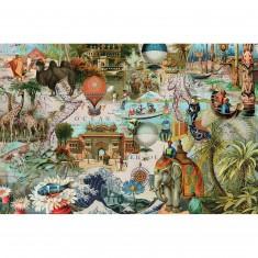 Puzzle 3000 pièces : Oceania