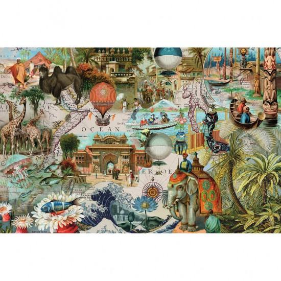 Puzzle 3000 pièces : Oceania - Ravensburger-17068