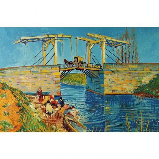 Puzzle 3000 pièces  : Van Gogh : Pont de Langois - Ravensburger-17065