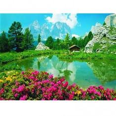 Puzzle 3000 pièces - Les Dolomites