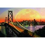 Puzzle 3000 pièces - San Francisco de nuit