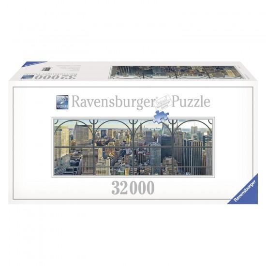 Puzzle 32 000 pièces : New York par la fenêtre - Ravensburger-17837