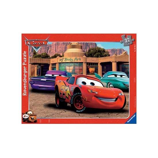 Puzzle cadre - 37 pièces - Cars : Le Club de l'Amitié - Ravensburger-06766