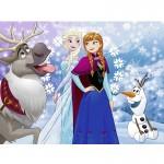 Puzzle 38 pièces : La Reine des Neiges (Frozen)