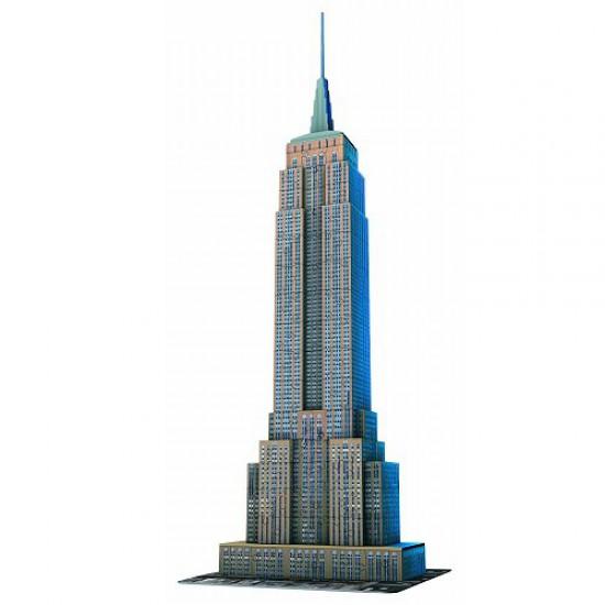 Puzzle 3D - 216 pièces : Empire State Building, New York - Ravensburger-12553