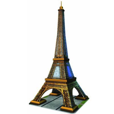 Puzzle 3D - 216 pièces : La Tour Eiffel, Paris - Ravensburger-12556