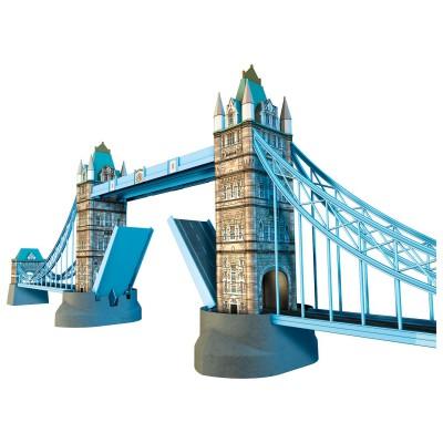 Puzzle 3D : 216 pièces : Tower Bridge, Londres - Ravensburger-12559