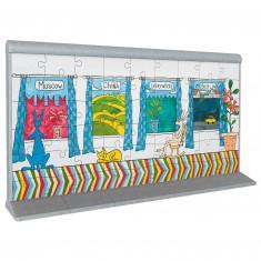 Puzzle 3D 108 pièces : Le mur de Berlin 2