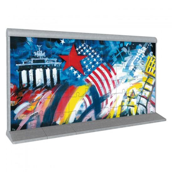 Puzzle 3D 108 pièces : Le mur de Berlin 3 - Ravensburger-12575