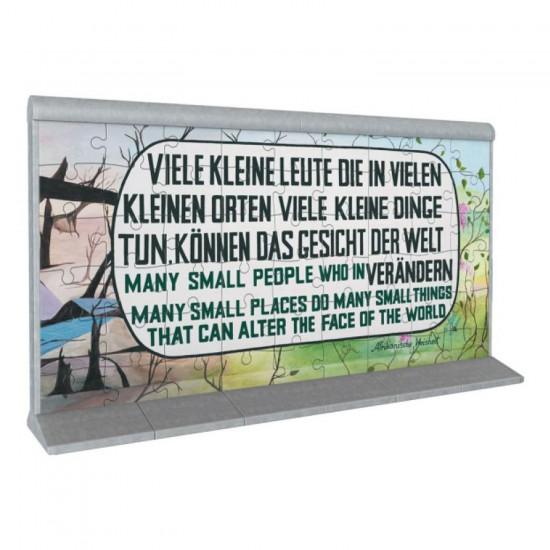 Puzzle 3D 108 pièces : Le mur de Berlin - Ravensburger-12571