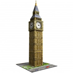Puzzle 3D 216 pièces : Big Ben avec montre horloge
