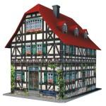 Puzzle 3D 216 pièces : Maison à colombages