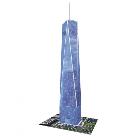 Puzzle 3D 216 pièces : One World Trade Center, New York - Ravensburger-12562