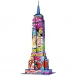 Puzzle 3D 216 pièces : Pop Art Edition : Empire State Building