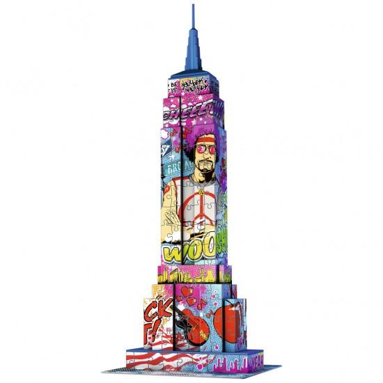 Puzzle 3D 216 pièces : Pop Art Edition : Empire State Building - Ravensburger-12599