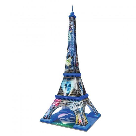 Puzzle 3D 216 pièces : Tour Eiffel Mickey et Minnie - Ravensburger-12570