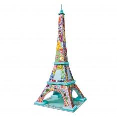 Puzzle 3D 216 pièces : Tula Moon Edition : Tour Eiffel