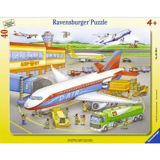 Puzzle 40 pièces - Aéroport : Zone d'embarquement - Ravensburger-06700
